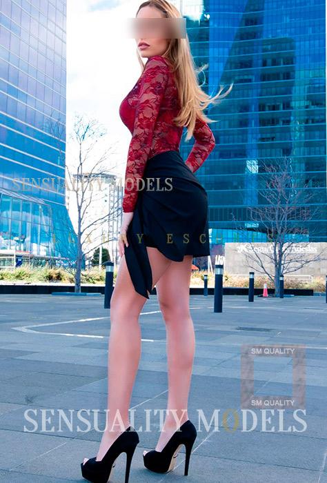 Adriana alta rubia de Madrid